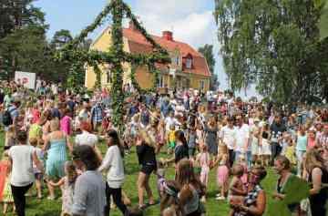 фишки дня, Мидсоммар Швеция