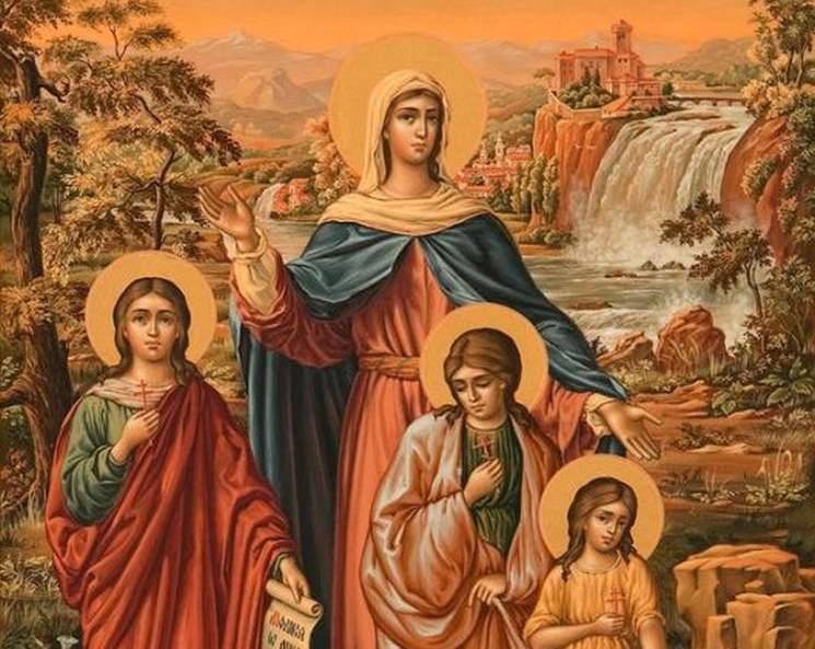 фишки дня - 30 сентября, день Веры, Надежды, Любви