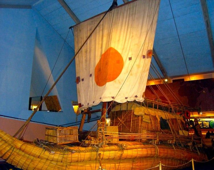 Лодка «Ра-II», Музей Кон-Тики, Осло, Норвегия