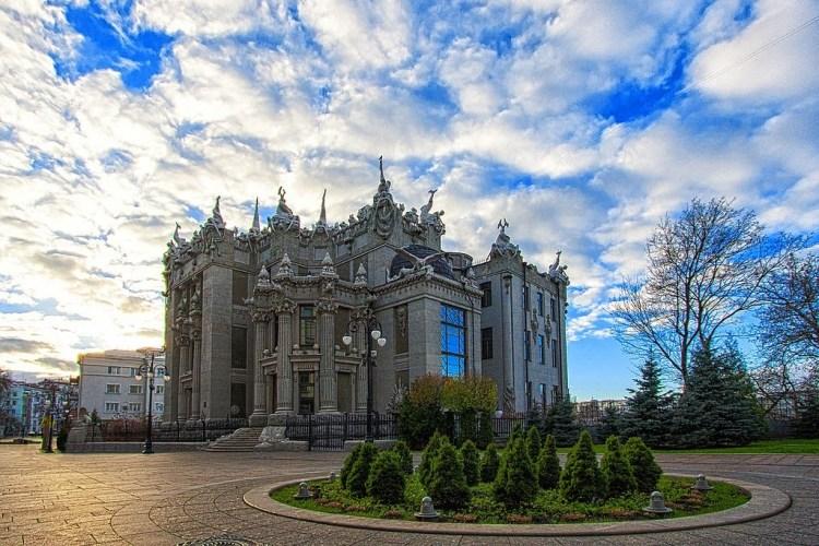 дом с химерами, Киев, рейтинг, достопримечательности