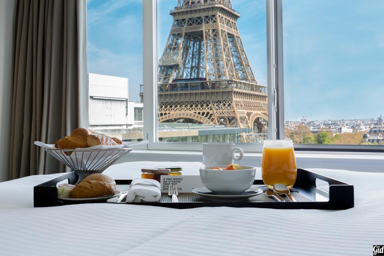 Отели Парижа с видом на Эйфелеву башню – 15 лучших