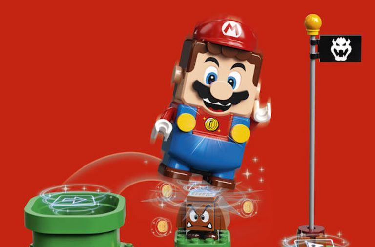 Super Mario, конструктор Лего, Марио, Супер Марио, Lego