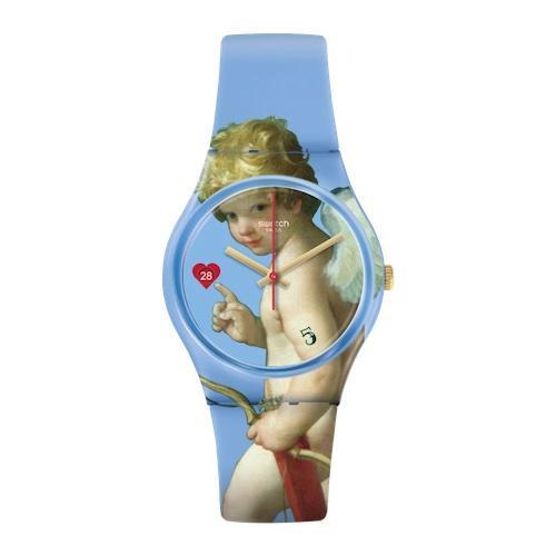 часы, амур, Лувр