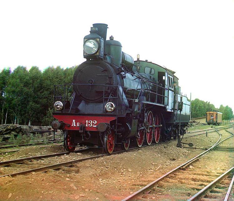 паровоз, исторические фото
