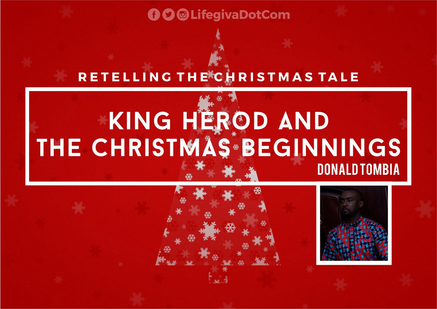 King Herod and the Christmas Beginnings - Donald Tombia