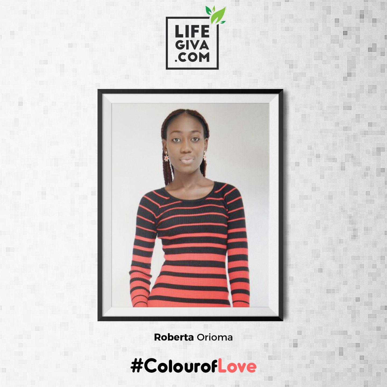 The Colour Of Love - Roberta Orioma #ColourOfLove