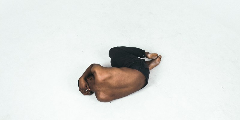 a man on the floor sin stronger