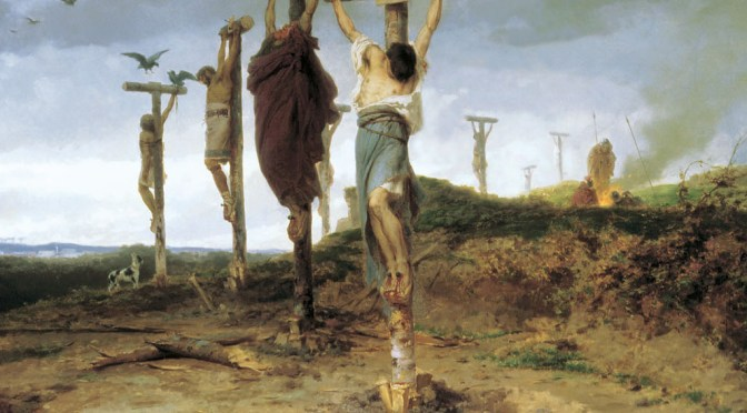 A LOOK BACK: A Forest of Crosses