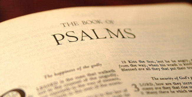 A LOOK BACK: Psalms