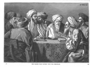 www-St-Takla-org--008-The-priests-take-counsel-with-the-Herodians