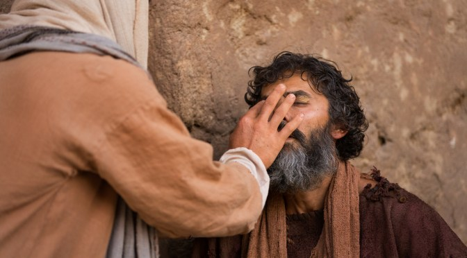 God's People, part 199: Blind Man