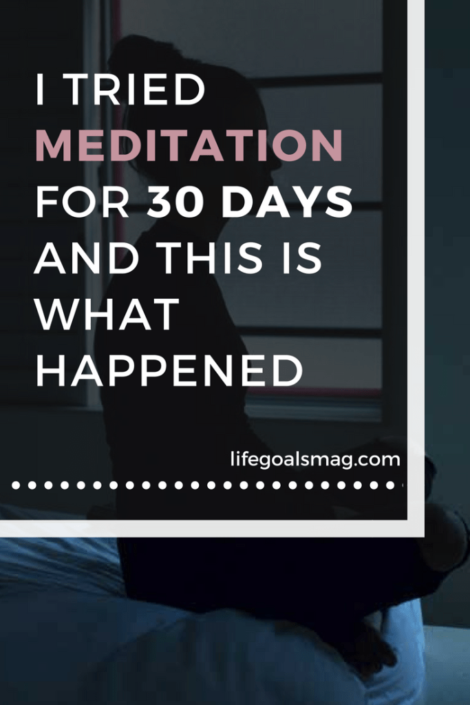 what i learned from meditating for 30 days #meditation #calm