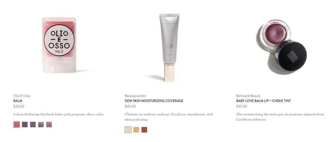 Goop, clean beauty brands best-sellers