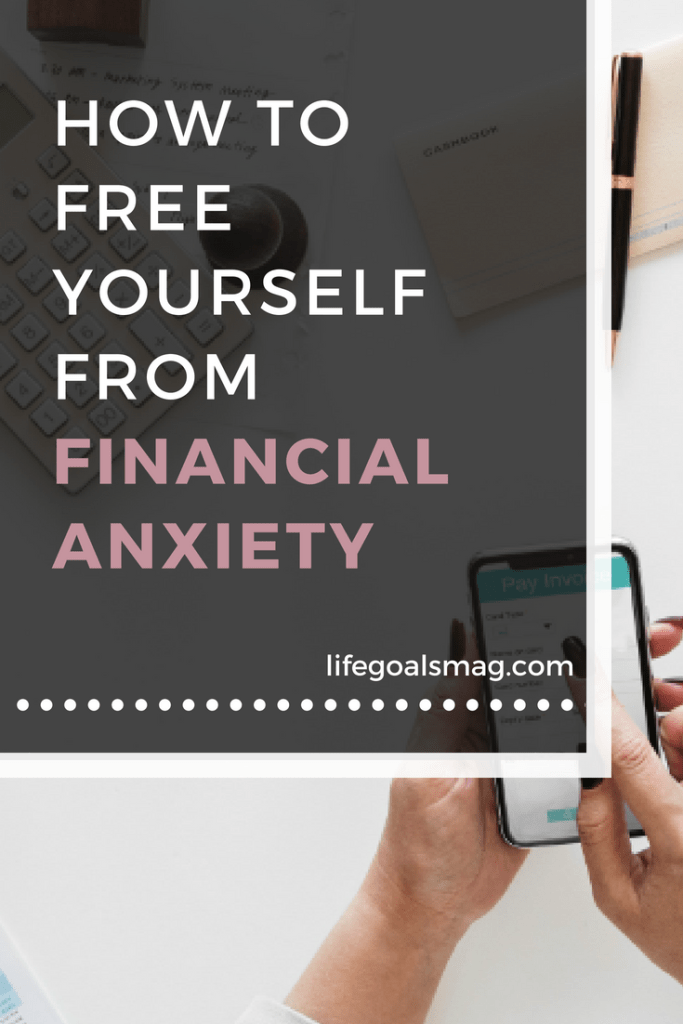 free yourself from financial anxiety #moneymindset
