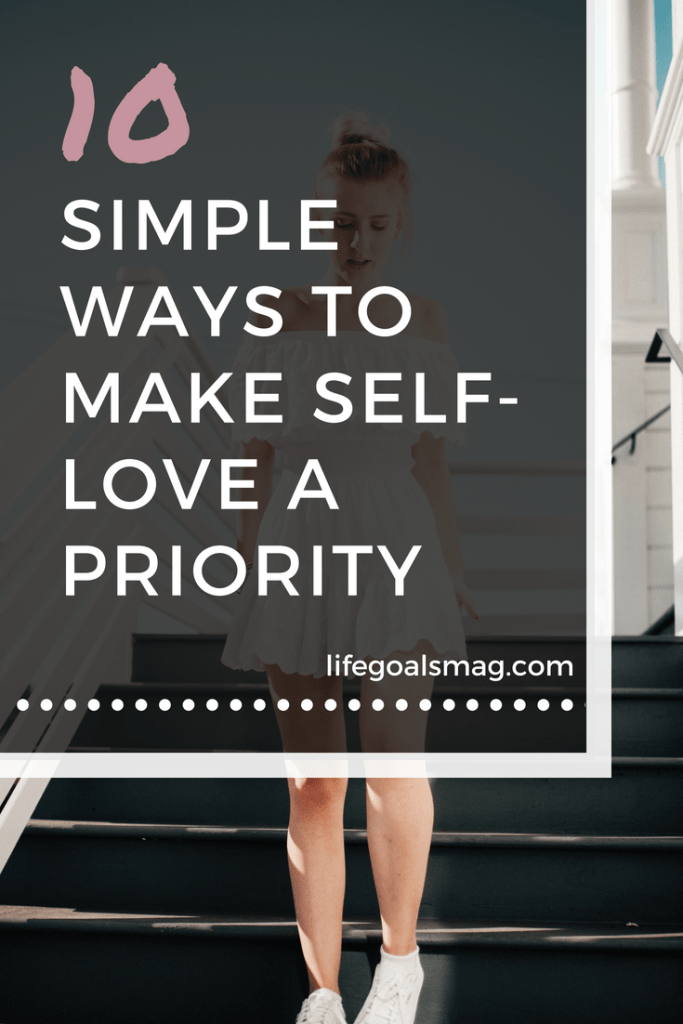 simple ways to make self-love a priority. #selfcare