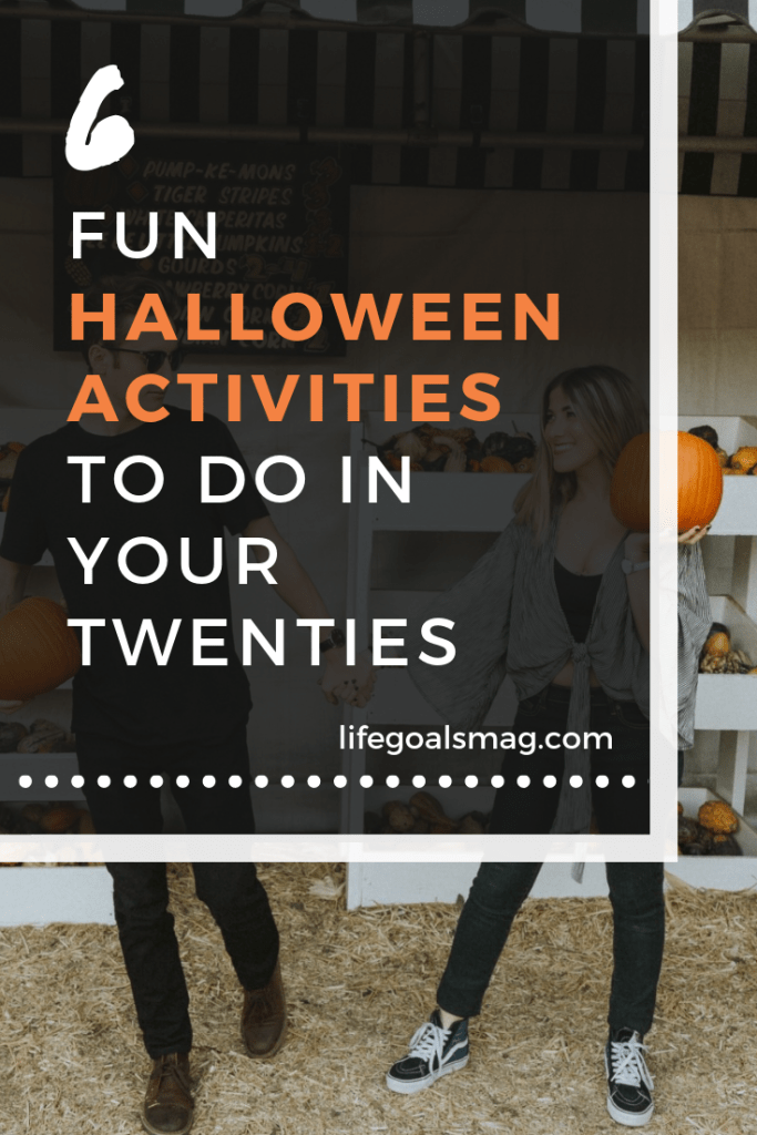 6 creative, fun halloween activities to do in your twenties with friends or as a couple. excited for these fall-themed adventures! #october #fall