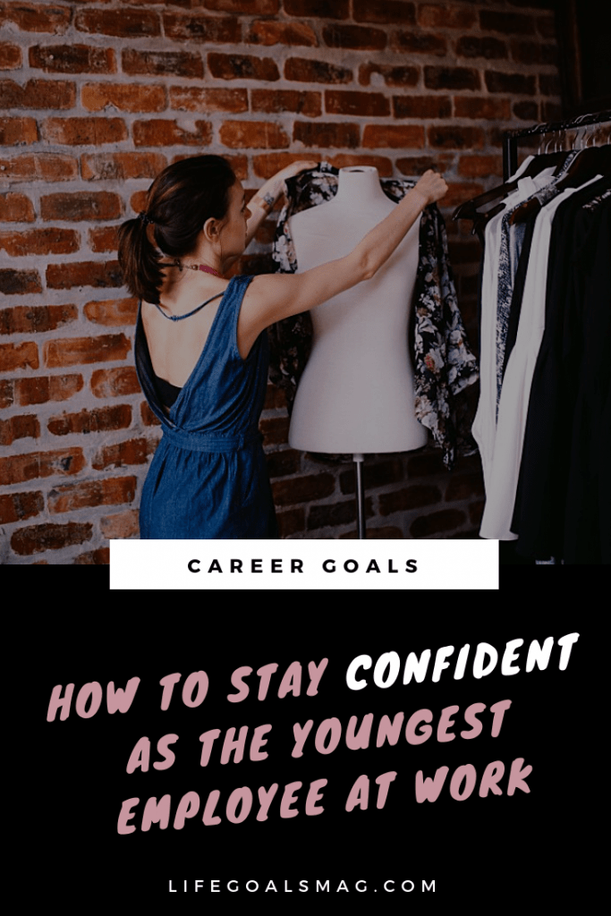 how to be confident as the youngest woman at your office. rise to the top with these career tips for young professionals starting a new career after college.