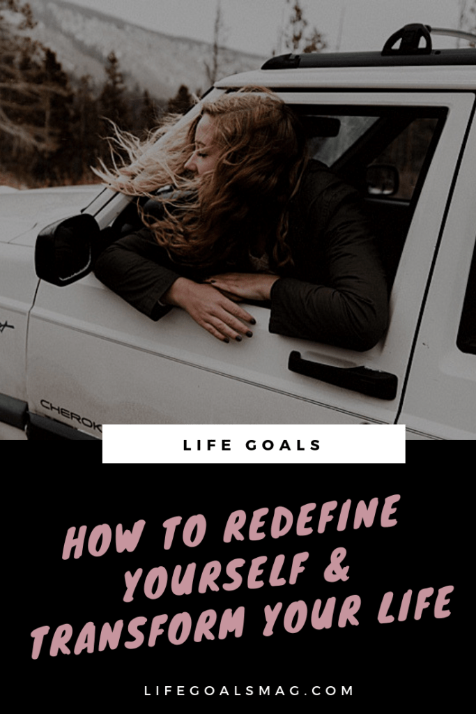 how to redefine yourself and makeover your lifestyle––from giving up drinking to setting a routine, this is what I did daily to transform my life. #habits #lifegoals