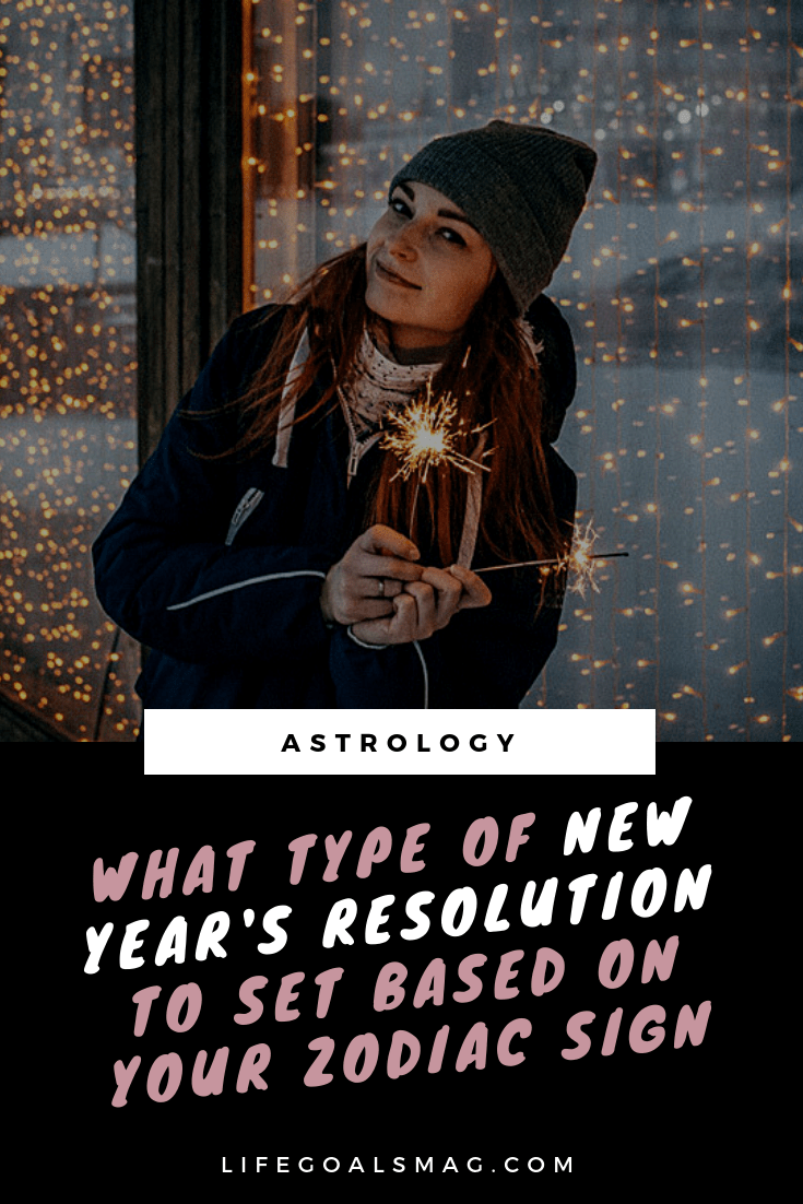 new years resolution ideas based on your zodiac sign #astrology #newyear #planning #2019