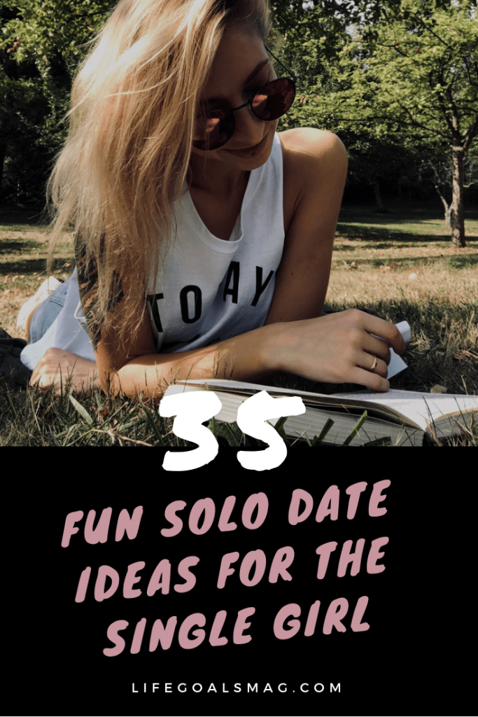 fun ideas for the single girl. spending quality alone time with yourself is so key for self-care.