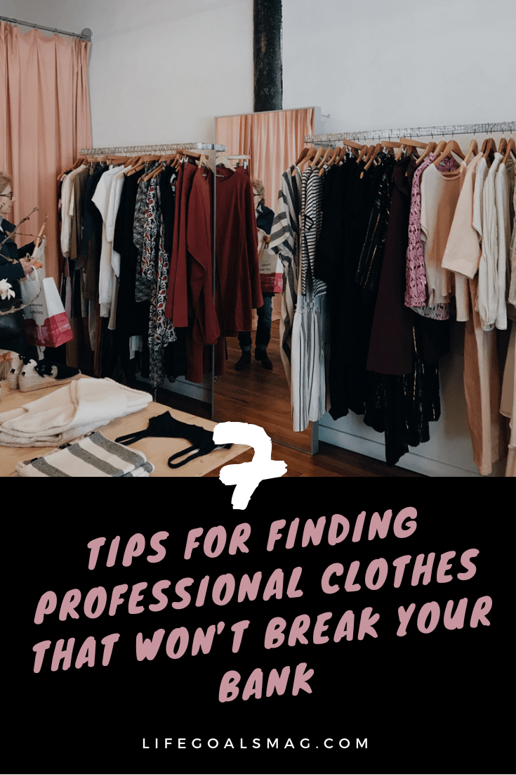 how to find affordable and professional career clothes that fit your style without spending a fortune on new work wardrobe.
