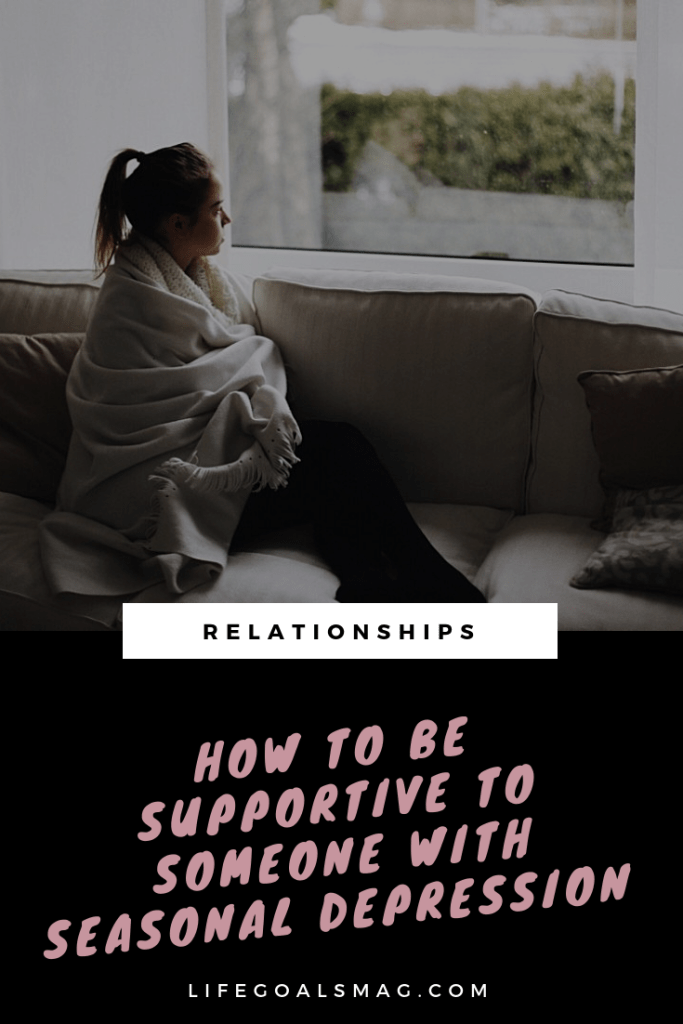 how to be supportive of a partner or friend with seasonal depression. winter can be a challenging time and moods can shift; it's important to be empathetic and find ways to help and support people through it without pushing them past their limits. #mentalhealth #winter