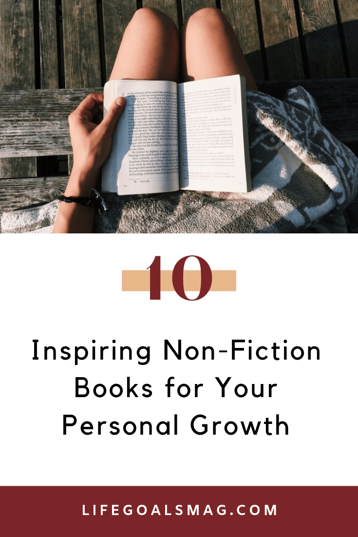 inspiring non-fiction books for personal growth. books on my reading list for self-help, inspiring memoirs and overall encouraging reads for the soul.