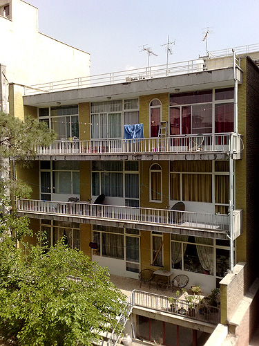 1970s Tehran Building