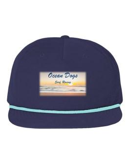 Ocean Dogs 'Surf Racing' 5 Panel Golf Cap