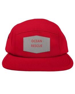 Ocean Dogs 'Ocean Rescue' 5-Panel Patch Hat