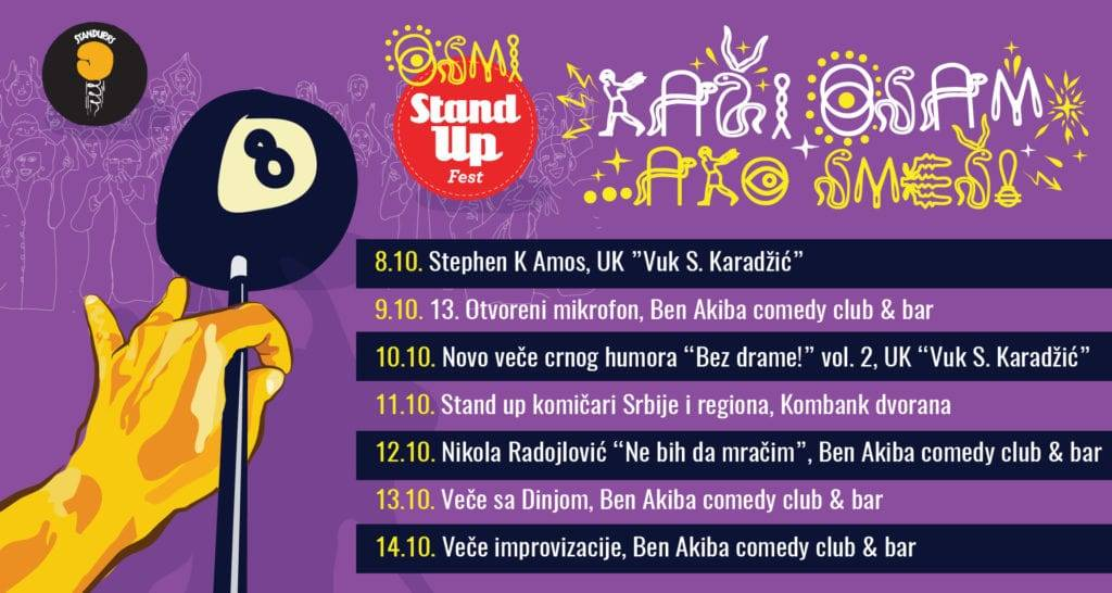 Stiže osmi Stand up fest