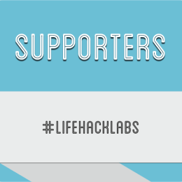 Lifehack Labs 2014 - Supporters