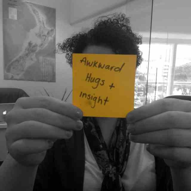 #LifehackLabs awkward hugs and insight