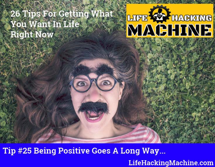 Lifehackingmachine.com lifehacks blog positivity