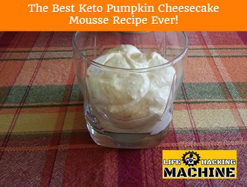 best keto pumpkin cheesecake mousse ever