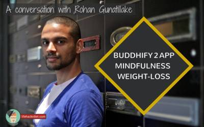 007 Buddhify 2 App, Mindfulness and Weight-loss. A Conversation with Rohan Gunatillake.