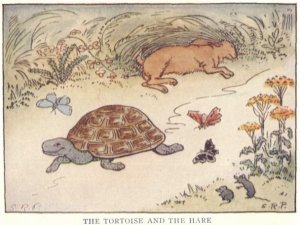 Tortoise and the Hare-http://lifehackrdiet.com/