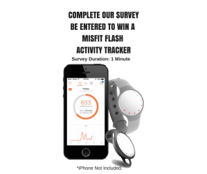 Enter to win a misfit flash