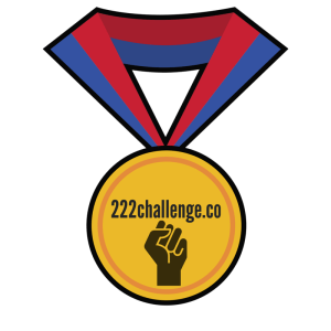 Triple 2-2-2 Challenge-Award Only