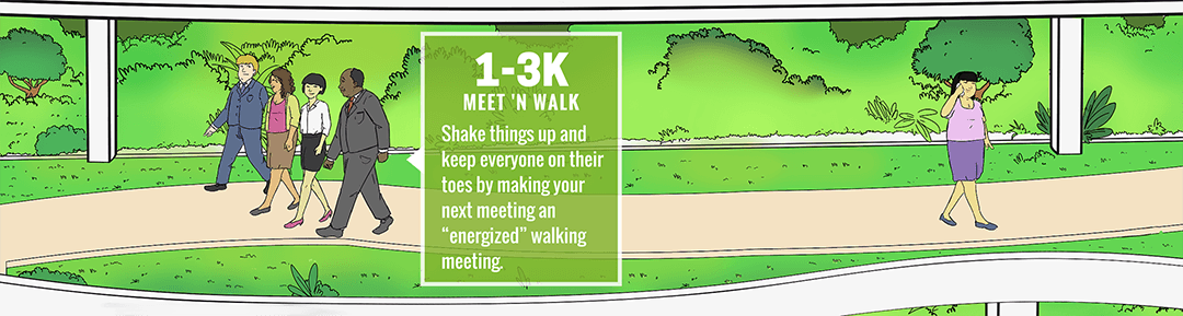 Workout at Work: Meet 'n Walk