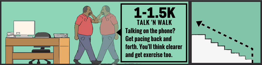 Workout at Work: Walk 'n Talk