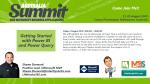 Come hear me during Summit Australia!