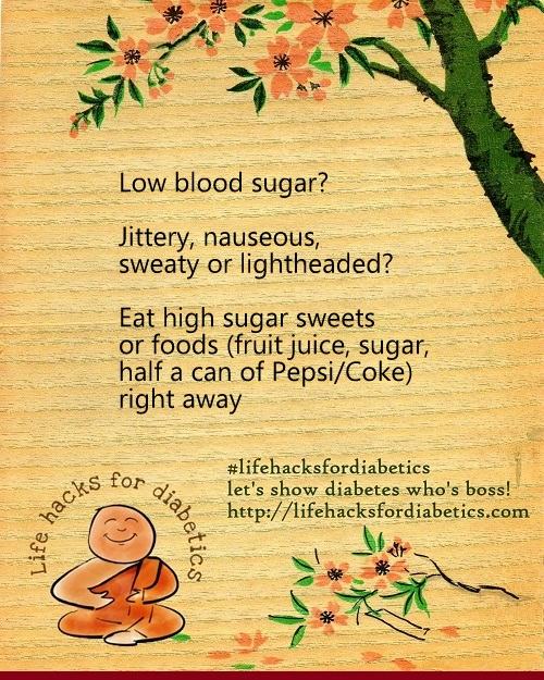 Low Blood Sugar?#Lifehacksfordiabetics
