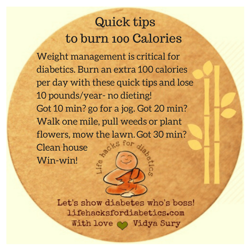 Quick tips to burn 100 Calories