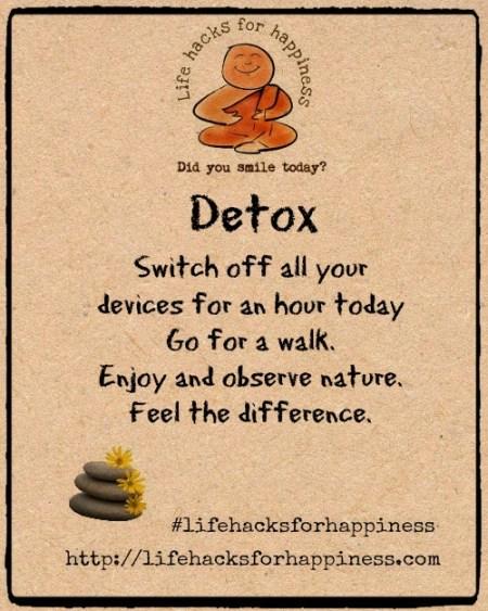Vidya Sury Lifehacks Happiness Detox