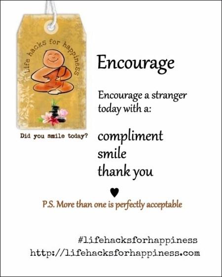 lifehacksforhappiness encourage