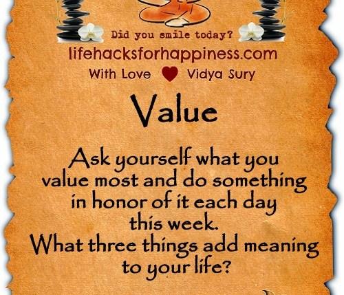 Value Vidya Sury