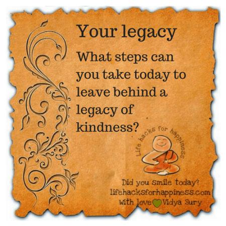 your legacy vidya sury