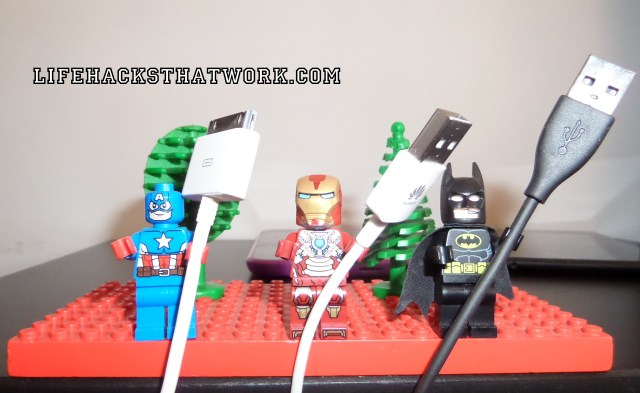 Lego USB Cable Tidy