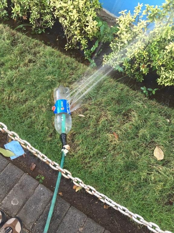 Easy Garden Sprinkler